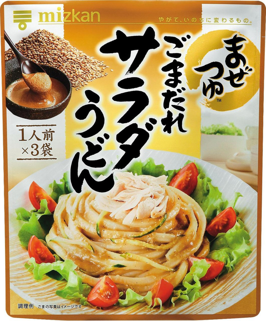 Mizkan sesame sauce for salad udon 3servings - Click Image to Close