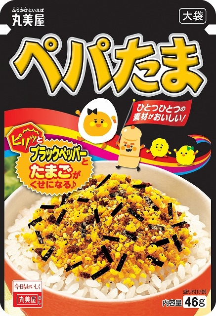 Marumiya furikake pepper and egg flavor