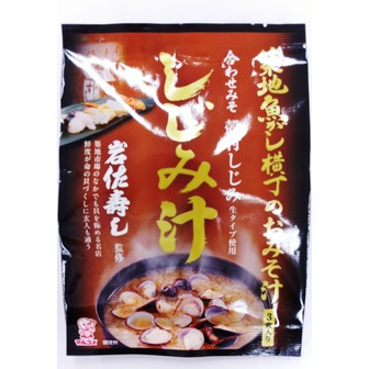 Marukome miso soup with freshwater clams 3servings