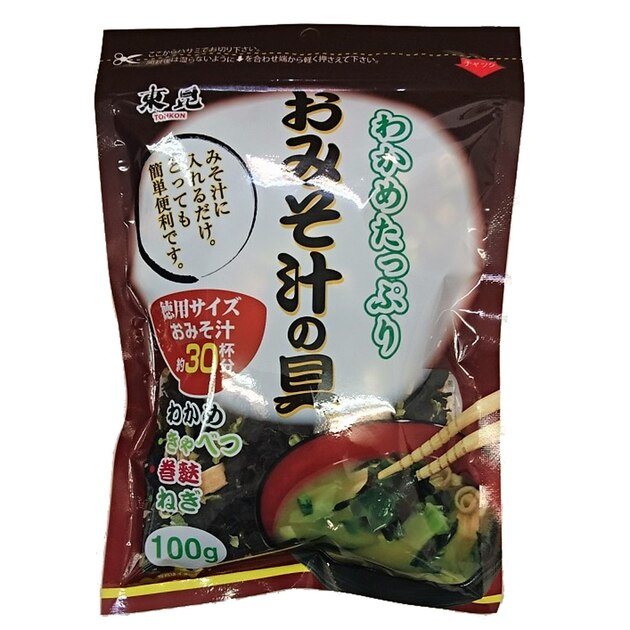 Tohkon Ingredients for Miso Soup 100g(3.52oz)