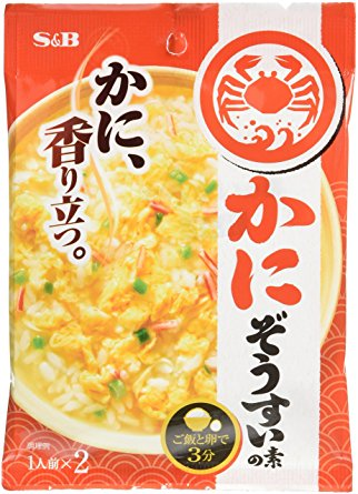 S&B kani(crab) zousui 2portions - Click Image to Close