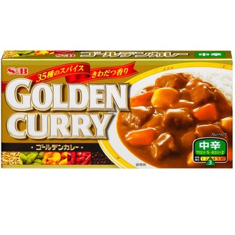 S&B Golden curry medium-hot