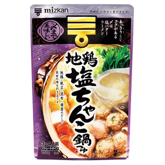 Mizkan Nabe of shio(salt) chanko 750g(26.45oz)