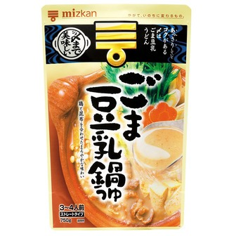 Mizkan Nabe of sesame & soybean milk 750g(26.45oz)