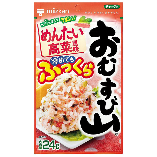 Mizkan omusubiyama spicy caviar & takana - Click Image to Close