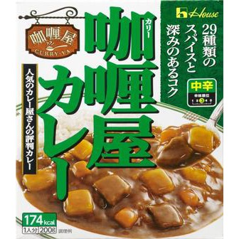 House curry-ya curry medium-hot 1serving(200g)