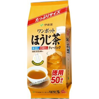 Itohen japanese roasted tea 50 tea bags