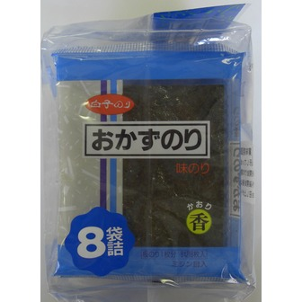 Shirako okazu-nori 8packs