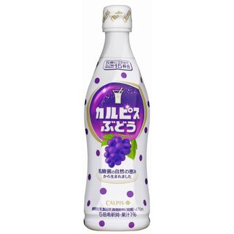 Calpis grape flavor 470ml