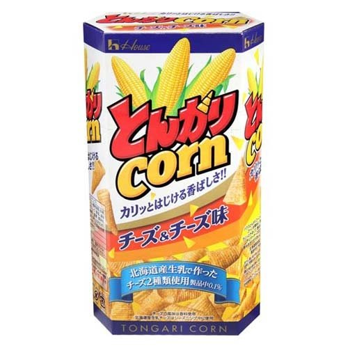 House tongari cone cheese flavor 75g(2.64oz)