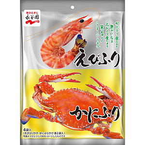 Nagatanien Shrimp & crab furikake two flavors