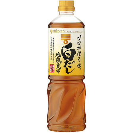 Mizkan professional shiro-dashi 1000ml(33.81floz)